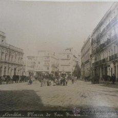 Fotografía antigua: FOTOGRAFIA ANTIGUA ALBUMINA RECUERDO DE SEVILLA VEA SUS FOTOS ADICIONALES ALBUMINA-102. Lote 32067337
