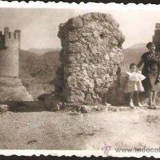 Fotografía antigua: ALCAZAR DE SEGORBE. AÑO 1952. Lote 32099651