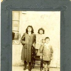 Fotografía antigua: COLINDRES (CANTABRIA).- FOTÓGRAFO ANACLETO FORONDA, DE COLINDRES. FOTOGRAFIA TAMAÑO 15X10,5 CM. ..... Lote 32216958