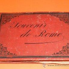 Fotografía antigua: (M-22) SOUVENIR DE ROME - 29 ALBUMINAS DE ROMA ,23'5 X 17 CM, SEÑALES DE USO. Lote 32331315