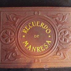 Fotografía antigua: (FOT-29)IMPRESIONANTE COLECCION DE 12 FOTOGRAFIAS ALBUMINAS RECUERDO DE MANRESA. Lote 32495436