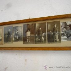 Fotografía antigua: 7 FOTOGRAFIAS ANTIGUAS EN MARCADAS. Lote 32646861