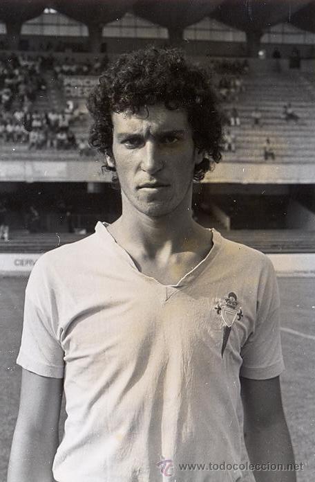 FOTO ORIGINAL - CELTA DE VIGO - 1977 - MAGAR - FARO DE VIGO - ANTONIO GOMEZ (Fotografía Antigua - Albúmina)