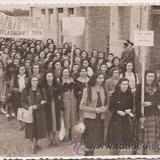 Fotografía antigua: PUEBLA DE FARNALS (VALENCIA): ANTIGUA FOTO DE PROCESIÓN. Lote 32902928