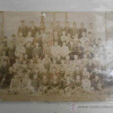 Fotografía antigua: FOTOGRAFIA ANTIGUA FOTO COLEGIO DE SANTANDER ALBUMINA-202. Lote 32910131