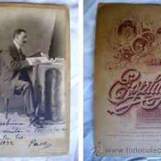 Fotografía antigua: FOTOGRAFÍA ANTIGUA : PACO. 1932. FOT: A.ESPLUGAS, BARCELONA. Lote 32937216