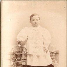 Fotografía antigua: NAPOLEON FOTO ANTIGUA 1895. Lote 32919801