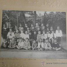 Fotografía antigua: FOTOGRAFIA ANTIGUA FOTO ESCOLAR NTRA SRA DEL PILAR ALBUMINA-218. Lote 32921050