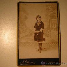 Fotografía antigua: TRASMIERA,FOTO ANTIGUA,F OLIVAN,PASEO CARMELITAS,SALAMANCA. Lote 33431894