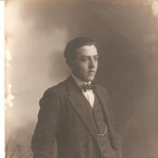 Fotografía antigua: FOTOGRAFIA ANTIGUA DEL FOTOGRAFO M.MARSAL RAMBLA CASTELAR.36 TARRAGONA. Lote 33433948