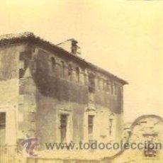 Fotografía antigua - FOTOGRAFIA ALBUMINA DE UN CASERÓN NOBLE DE VILANOVA I LA GELTRU (GARRAF-BARCELONA). Ca. 1875 - 33903233