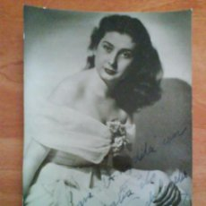 Fotografía antigua: FOTOGRAFÍA ANTIGUA DEDICADA Y FIRMADA POR BEATRIZ................ Lote 34169325