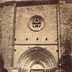 Fotografía antigua: FOTOGRAFIA ALBUMINA DE J. LAURENT.IGLESIA DE LA MAGDALENA. ZAMORA.ESPAÑA. CA.1880. Lote 34190047