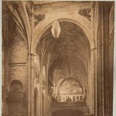 Fotografía antigua: FOTOGRAFIA ALBUMINA DE J. LAURENT. IGLESIA SANTO DOMINGO.SALAMANCA.ESPAÑA. CA. 1880.. Lote 34190062