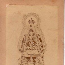Fotografía antigua: FOTOGRAFIA ORIGINAL DE 7.5X11.5 CM DE LA NUESTRA SEÑORA DE REGLA DE CHIPIONA. Lote 34283746