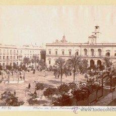 Fotografía antigua: SEVILLA. 3 FOTOGRAFÍAS ALBUMINAS DE E. BEUACHY 1870-1880. 20 X 26 (2) Y 28 X 23 (1) CM:. Lote 34376092
