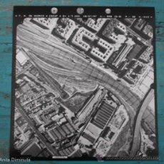 Fotografía antigua: FOTOGRAFIA AEREA DE MADRID EJERCITO DEL AIRE - 1997 - MENDEZ ALVARO, ATOCHA, TELLEZ, PEDRO BOSCH, VI. Lote 34553751