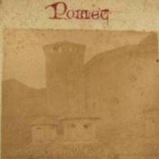 Fotografía antigua: FOTOGRAFIA ALBUMINA DE F. ROGENT DEL ABSIS DEL MONASTERIO DE POBLET-TARRAGONA. CA. 1875. Lote 34561804