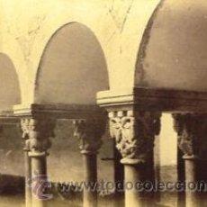 Fotografía antigua - 13 FOTOGRAFIAS ALBUMINAS DEL CLAUSTRO Y CAPITELES MONASTERIO DE SANT CUGAT-BARCELONA. Ca. 1875. - 34982218