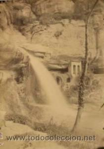 4 FOTOGRAFIAS ALBUMINAS DE SANT MIQUEL DE FAY-BARCELONA. CA. 1875. (Fotografía Antigua - Albúmina)