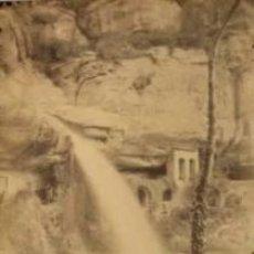 Fotografía antigua: 4 FOTOGRAFIAS ALBUMINAS DE SANT MIQUEL DE FAY-BARCELONA. CA. 1875. . Lote 34982559