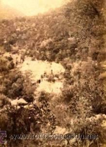 Fotografía antigua: 4 FOTOGRAFIAS ALBUMINAS DE SANT MIQUEL DE FAY-BARCELONA. Ca. 1875. - Foto 2 - 34982559