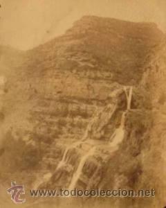 Fotografía antigua: 4 FOTOGRAFIAS ALBUMINAS DE SANT MIQUEL DE FAY-BARCELONA. Ca. 1875. - Foto 4 - 34982559