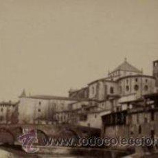 Fotografía antigua: 7 FOTOGRAFIAS ALBUMINAS DE VIC-BARCELONA:VISTA GENERAL,SANTSIXT,MONUEMNTO A BALMES,ETC. CA.1875.. Lote 34983860
