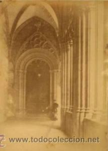 Fotografía antigua: 7 FOTOGRAFIAS ALBUMINAS DE VIC-BARCELONA:VISTA GENERAL,SANTSIXT,MONUEMNTO A BALMES,ETC. Ca.1875. - Foto 7 - 34983860