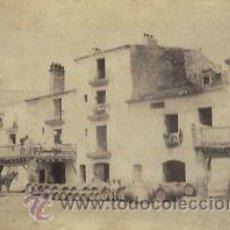 Fotografía antigua - 5 FOTOGRAFIAS ALBUMINAS DE VILANOVA I LA GELTRU-BARCELONA: Ca.1875. - 34984202