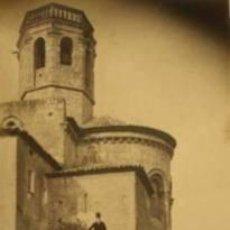 Fotografía antigua: 3 FOTOGRAFIAS ALBUMINAS DE SANT MARTÍ SARROCA - ALT PENEDÈS-BARCELONA .CA1875. Lote 34998918