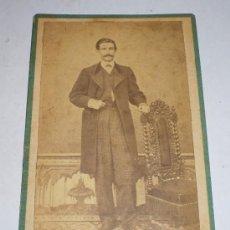 Fotografía antigua: ANTIGUA FOTOGRAFIA (S.XIX), FOTGRAFO BLANCO - CADIZ. Lote 34998939