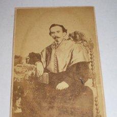 Fotografía antigua: ANTIGUA FOTOGRAFIA (S.XIX), FOTOGRAFO PEDRO SEBASTIA VILA - SEVILLA. Lote 34999380