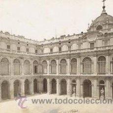 Fotografía antigua: 8 FOTOGRAFIAS ALBUMINAS DEL PALACIO REAL DE MADRID. CIRCA 1880. 17,5X14 CM.. Lote 35199243