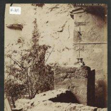 Fotografía antigua: SAN MIQUEL DEL FAY- BAIXADA DE LAS CAMPANAS -MED.16X21CM. FOT.ARTISTICA , PONIENTE 38, - (F-309). Lote 35228887