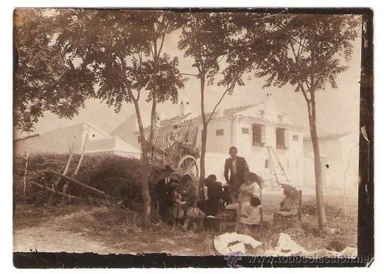 ESCENA CAMPESTRES PP. S XX. (Fotografía Antigua - Albúmina)