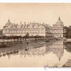 Fotografía antigua: ARANJUEZ, PALACIO REAL. NUM.2555. FOTO: FRANCIS FRITH. 1860'S. ALBÚMINA SIN MONTAR 15,5X21 CM.. Lote 35388066