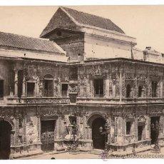 Fotografía antigua: SEVILLA, AYUNTAMIENTO. NUM. 1319.FOTO: R.P. NAPPER. 1860-63, ALBÚMINA SIN MONTAR 21X17 CM.. Lote 35388517