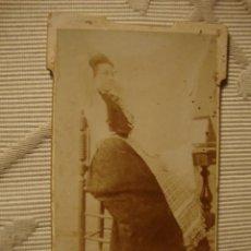 Fotografía antigua: ANTIGUA FOTOGRAFIA ALBÚMINA EN CARTON, ORIGINAL, S.XIX, CA. 1880. Lote 35428123
