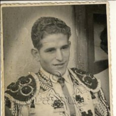 Fotografía antigua - POSTAL FOTOGRAFICA ORIGINAL DEL TORERO DE CASTELLON ZABALZA - 35677127