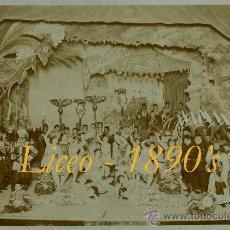 Fotografía antigua - LICEO - OPERA 1890'S - Fot. Merletti - 35776128