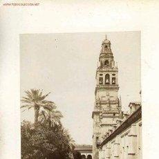 Fotografía antigua: CÓRDOBA, TRES FOTOGRAFÍAS ANTIGUAS MONTADAS EN HOJA DE ANTIGUO ALBUM. VER FOTOS. Lote 35790350