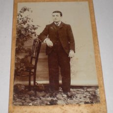 Old photograph - ANTIGUA FOTOGRAFIA (16,5 cm x 11 cm) - 35884453