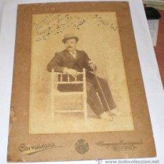 Fotografía antigua - ANTIGUA FOTOGRAFIA - FOTOGRAFO CARRASCOSA - MADRID - 1903 (24 cm x 17 cm) - 35885009