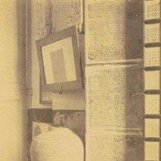 Fotografía antigua: 2 FOTOGRAFIAS ALBUMNINAS TARRAGONA . INTERIOR MUSEO Y CLAUSTRO DE LA CATEDRAL .CA 1890. Lote 35910997