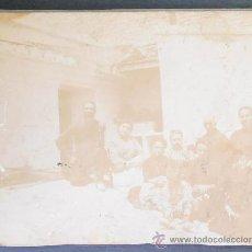 Fotografía antigua: FOTOGRAFIA 10X8 CM APROX, GRUPO FAMILIAR, (154). Lote 35983767