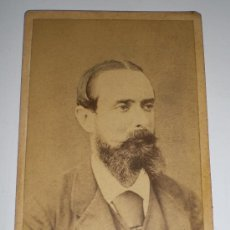 Antigua fotografía. Siglo XIX. Fotógrafo Rafael Rocafull - Cádiz.
