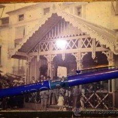 Fotografía antigua: MAGNIFICA FOTOGRAFIA DE INAUGURACIÓN CASINO DE ALBACETE.. Lote 36077841