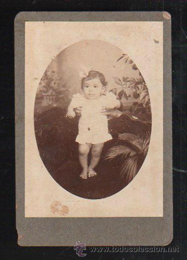 FOTOGRAFIA INFANTIL. CUBA (Fotografía Antigua - Albúmina)