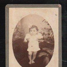 Fotografía antigua: FOTOGRAFIA INFANTIL. CUBA. Lote 36083460